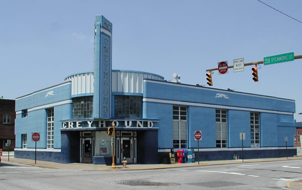 Evansville Moving Forward: Realizing the Old Greyhound Bus